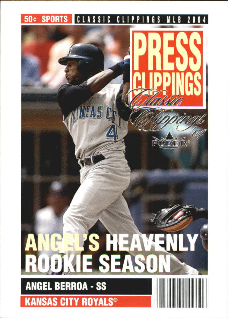 2004 Classic Clippings Press Clippings #6 Angel Berroa