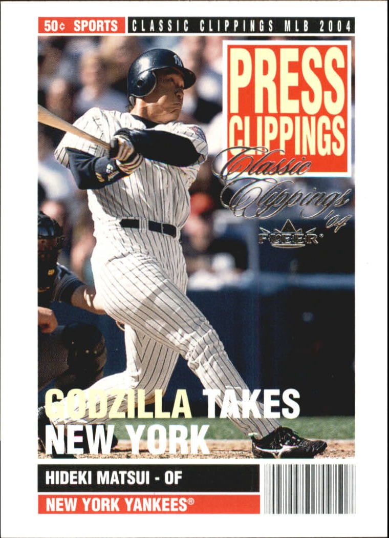 2004 Classic Clippings Press Clippings #12 Hideki Matsui