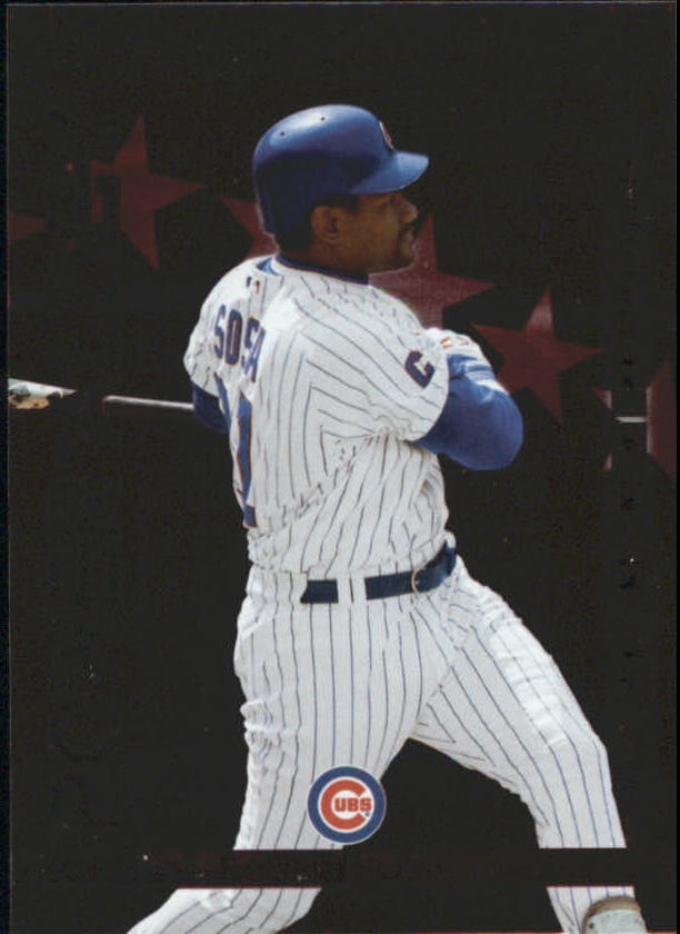 2004 Donruss Power Alley Red #13 Sammy Sosa
