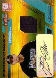 2004 Donruss Elite Extra Edition Career Best All-Stars Signature Jersey Gold #23 Miguel Cabrera/10