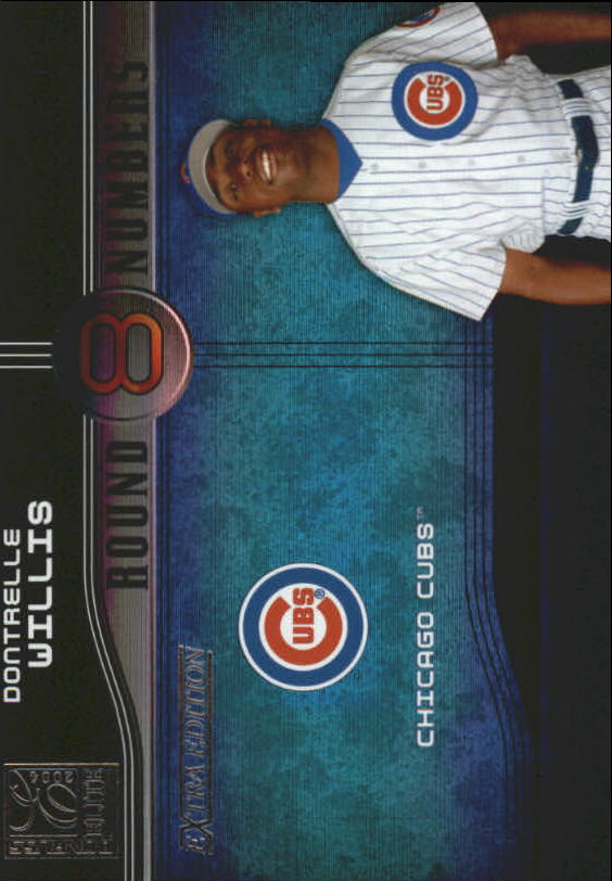 2004 Donruss Elite Extra Edition Round Numbers #7 Dontrelle Willis