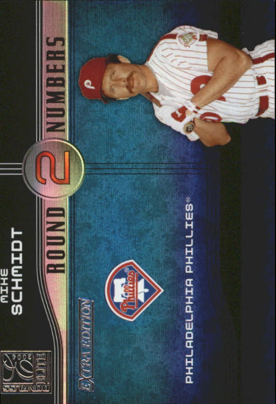 2004 Donruss Elite Extra Edition Round Numbers #20 Mike Schmidt