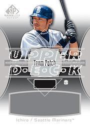 2004 SP Game Used Patch Premium Autograph #IS Ichiro Suzuki