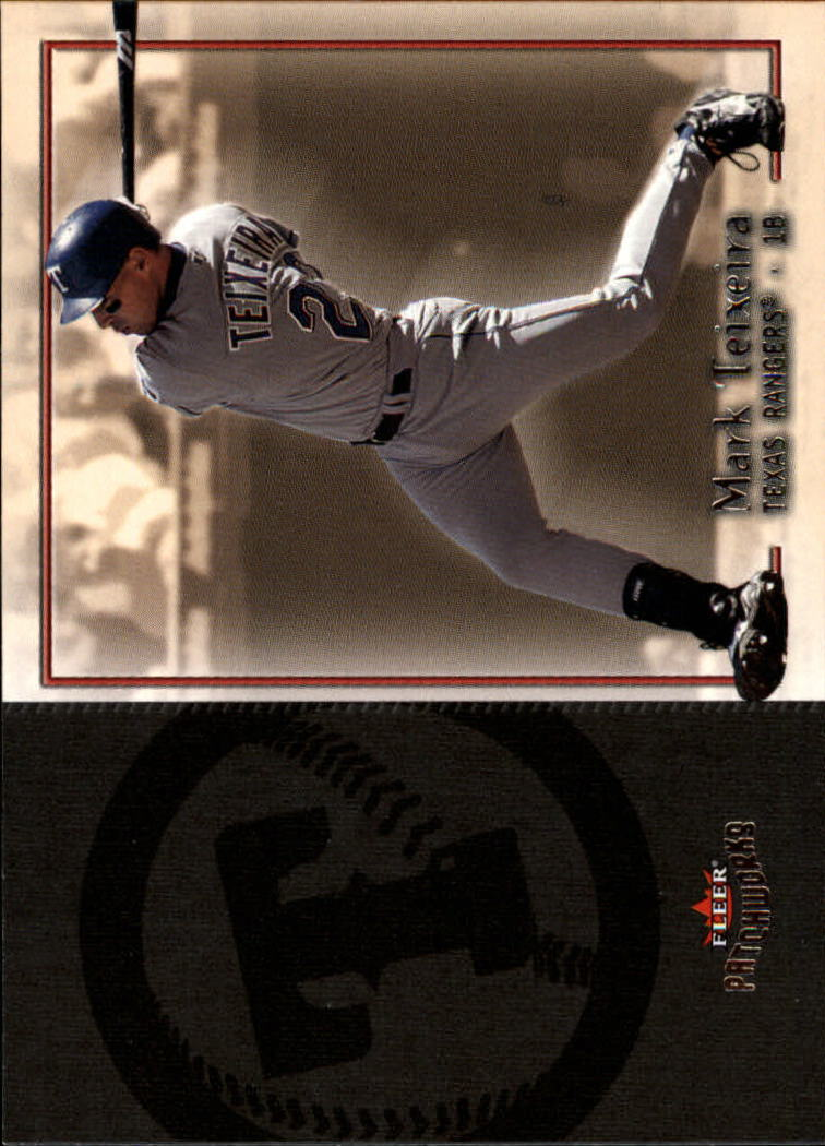2004 Fleer Patchworks #7 Mark Teixeira