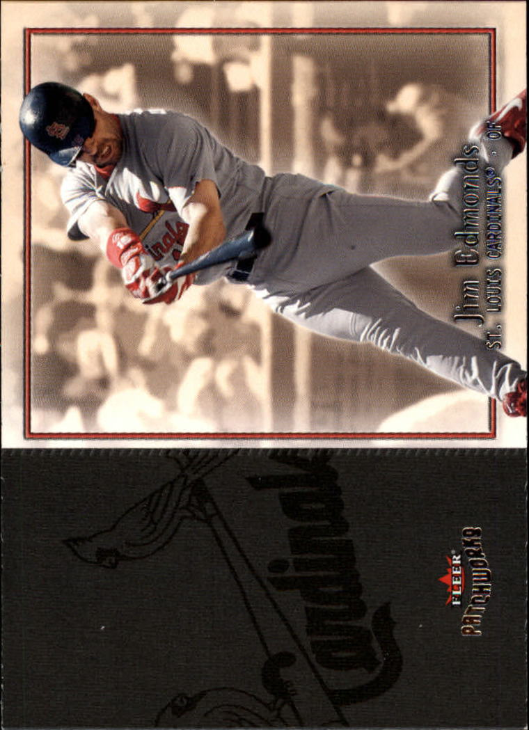 2004 Fleer Patchworks #43 Jim Edmonds