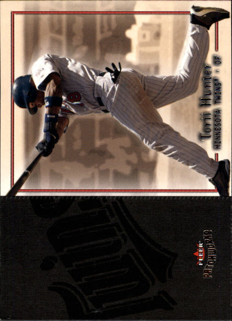 2004 Fleer Patchworks #57 Torii Hunter
