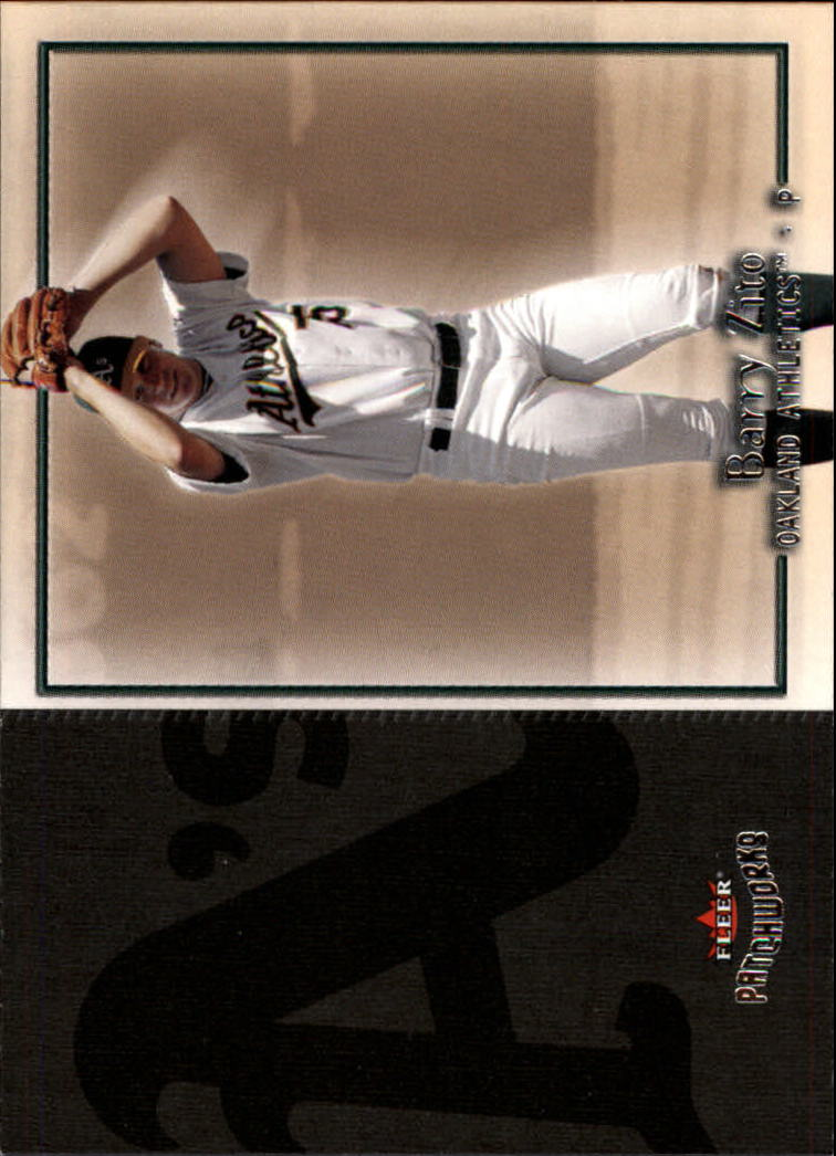 2004 Fleer Patchworks #66 Barry Zito