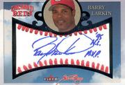 2004 Fleer Sweet Sigs Autograph Platinum #BL Barry Larkin/11