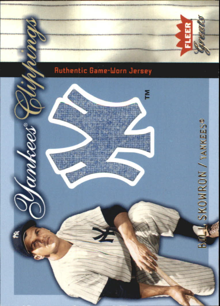 2004 Greats of the Game Yankees Clippings #BS Bill Skowron