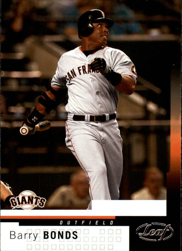 2004 Leaf #195 Barry Bonds