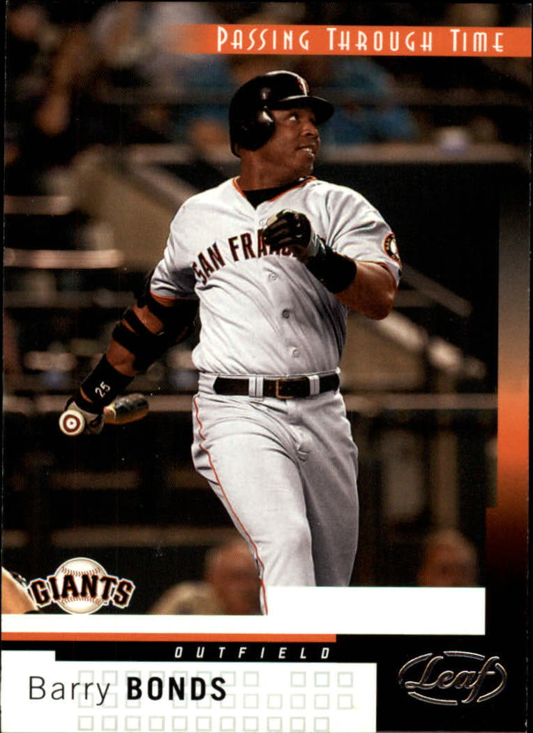 2004 Leaf #265 Barry Bonds PTT front image