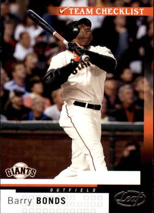 2004 Leaf #301 Barry Bonds TC front image