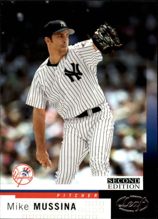 2004 Leaf Second Edition #61 Mike Mussina