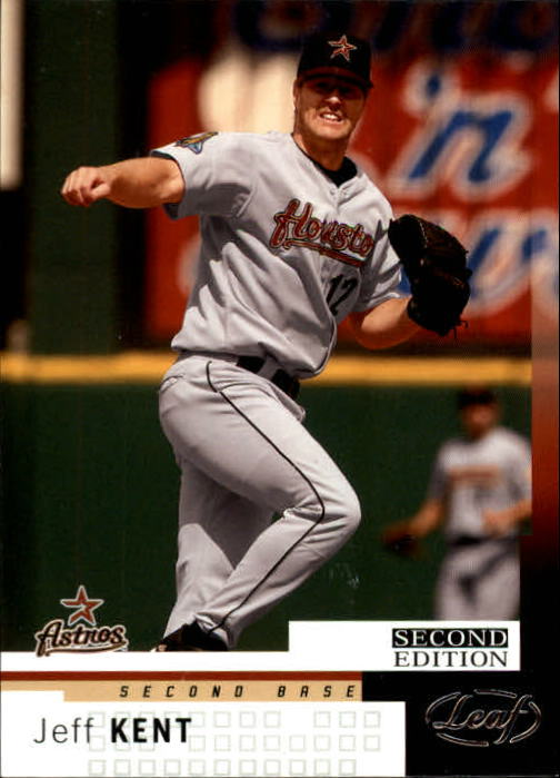 2004 Leaf Second Edition #139 Jeff Kent