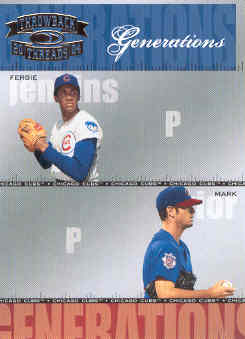 2004 Throwback Threads Generations #6 F.Jenkins/M.Prior