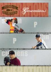 2004 Throwback Threads Generations #16 Sutton/Ryan/Clemens