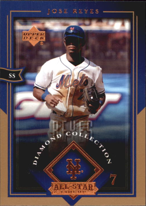 2004 UD Diamond All-Star #57 Jose Reyes