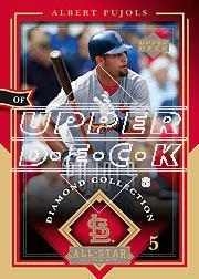 2004 UD Diamond All-Star #79 Albert Pujols