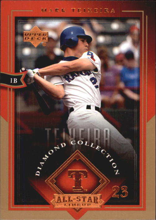 2004 UD Diamond All-Star #86 Mark Teixeira