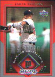 2004 UD Diamond All-Star Silver Honors #50 Johan Santana