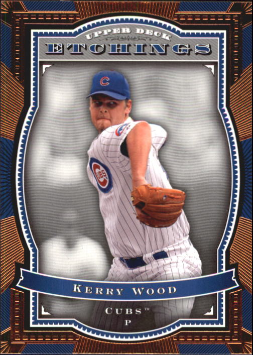 2004 Upper Deck Etchings #16 Kerry Wood