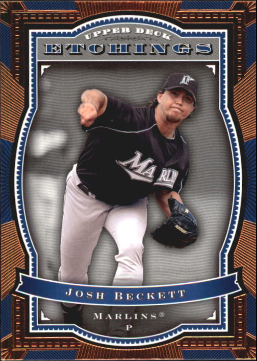 2004 Upper Deck Etchings #18 Josh Beckett