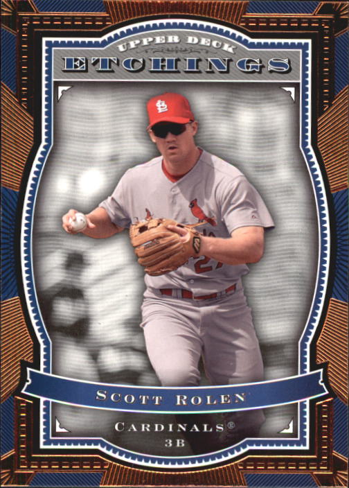 2004 Upper Deck Etchings #19 Scott Rolen