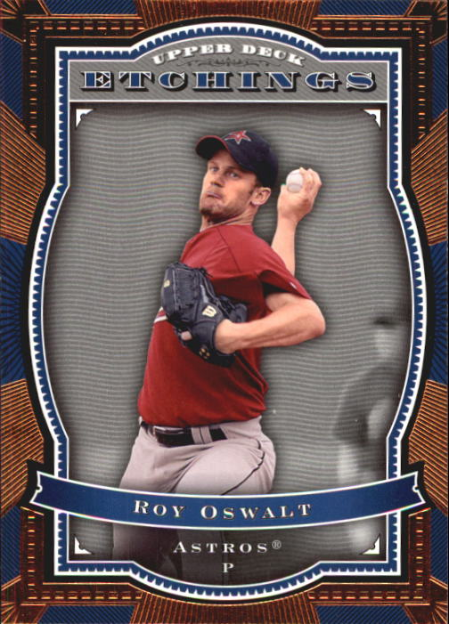 2004 Upper Deck Etchings #33 Roy Oswalt