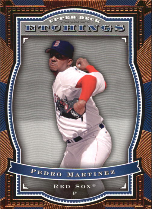 2004 Upper Deck Etchings #52 Pedro Martinez