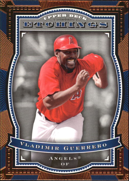 2004 Upper Deck Etchings #64 Vladimir Guerrero