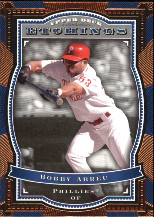 2004 Upper Deck Etchings #79 Bobby Abreu