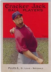 2004 Topps Cracker Jack #3B Albert Pujols Swinging SP