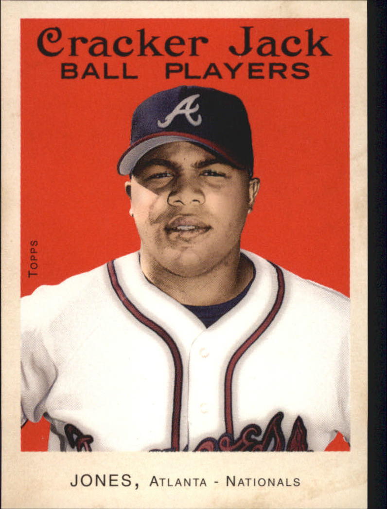 2004 Topps Cracker Jack #6 Andruw Jones