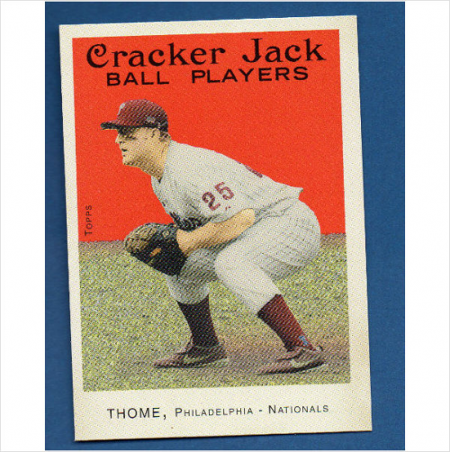 2004 Topps Cracker Jack #25B Jim Thome Fielding SP