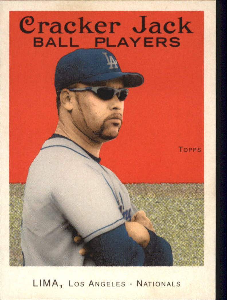 2004 Topps Cracker Jack #32 Jose Lima