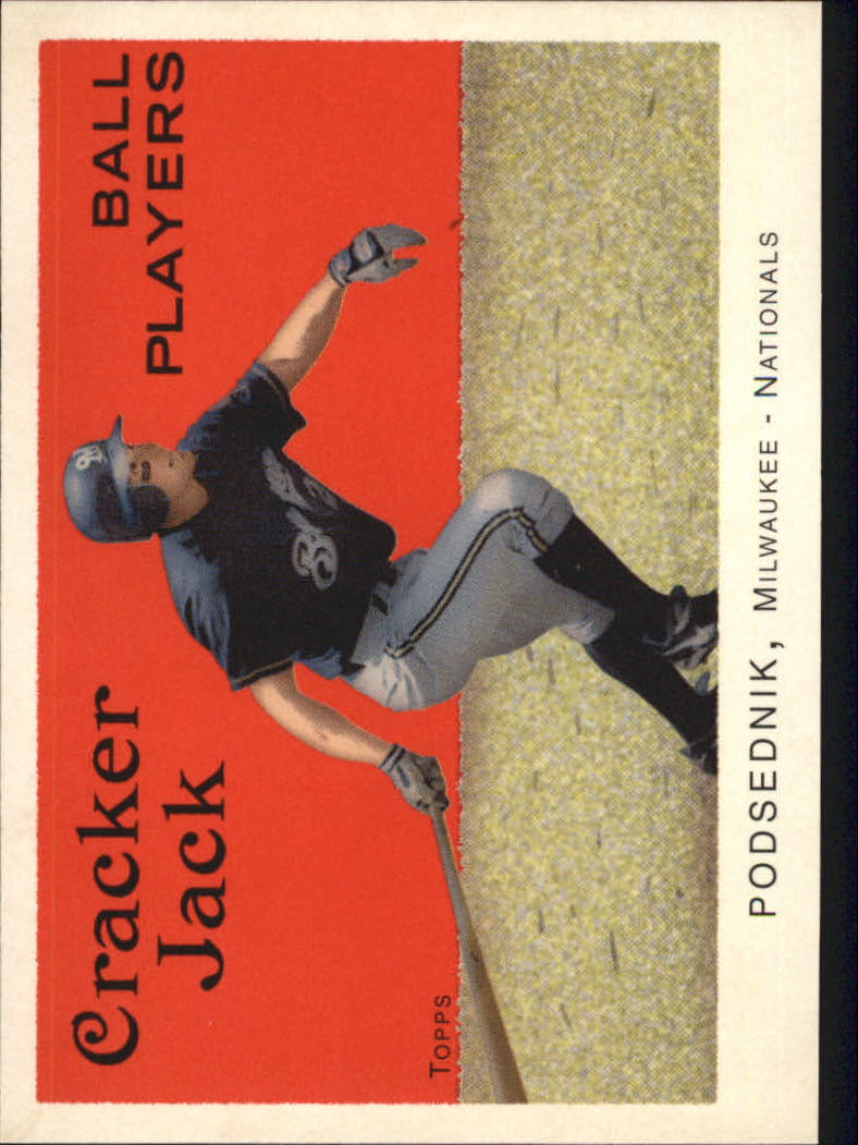 2004 Topps Cracker Jack #39 Scott Podsednik