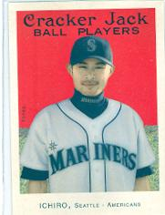 2004 Topps Cracker Jack #51 Ichiro Suzuki SP