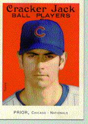 2004 Topps Cracker Jack #100 Mark Prior SP