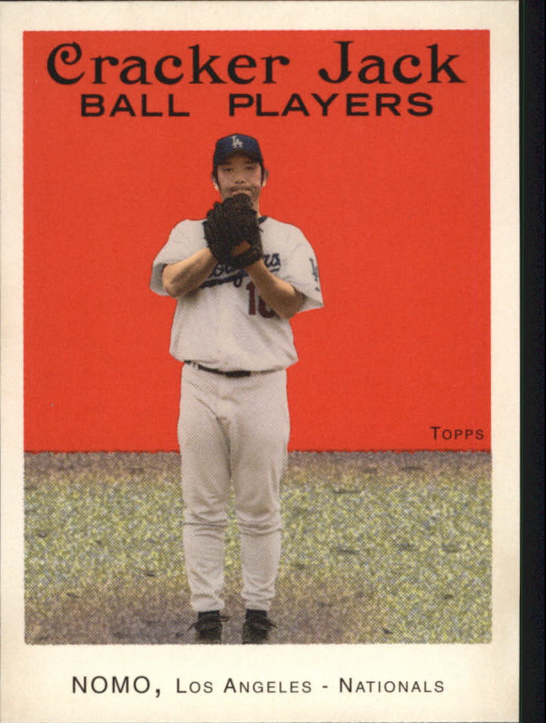 2004 Topps Cracker Jack #113 Hideo Nomo