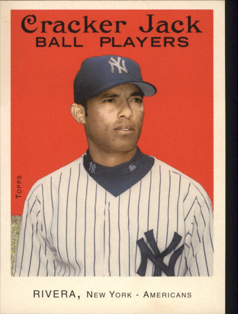 2004 Topps Cracker Jack #235 Mariano Rivera