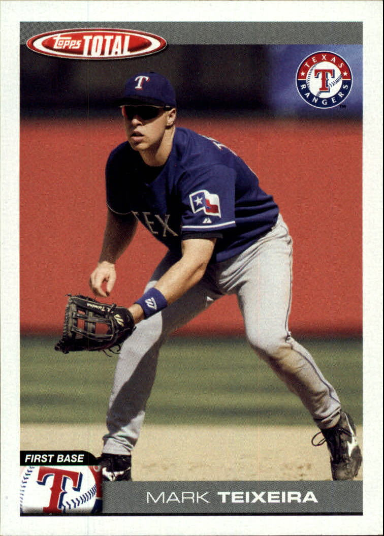 2004 Topps Total #640 Mark Teixeira