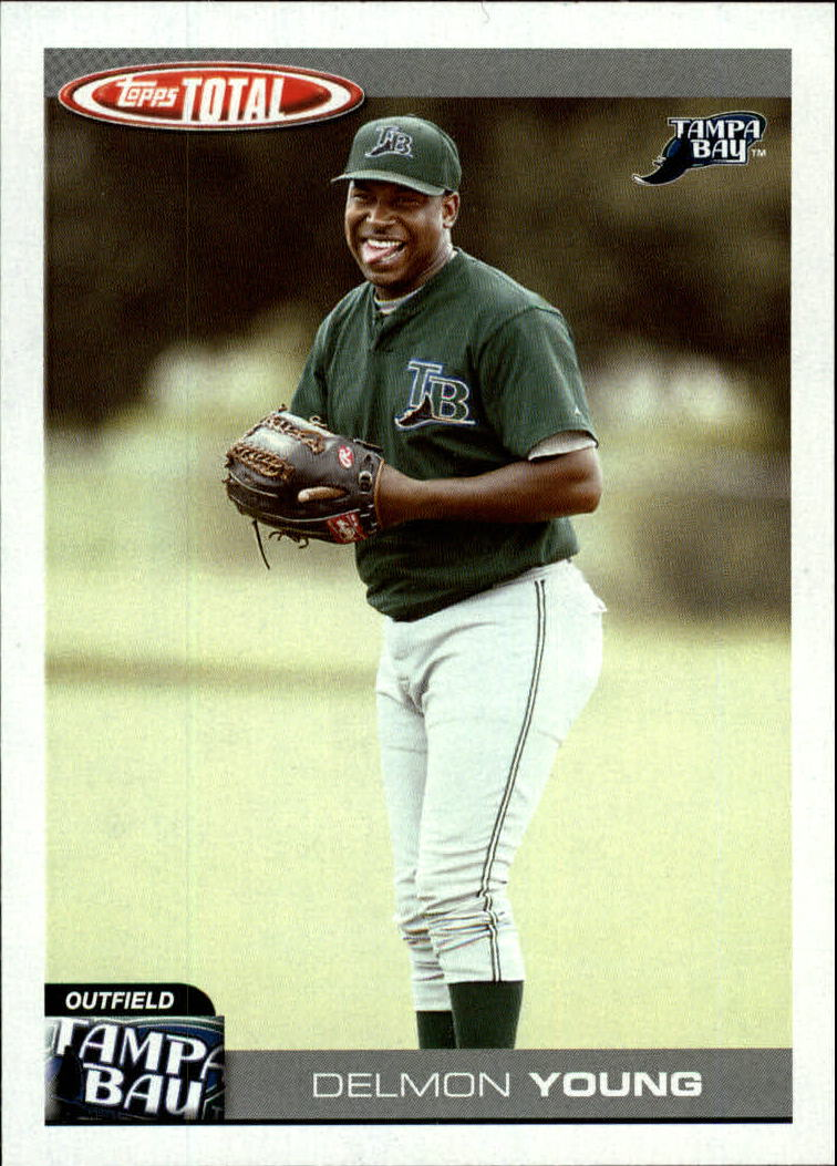 2004 Topps Total #738 Delmon Young PROS