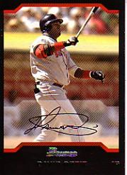2004 Bowman #17 David Ortiz