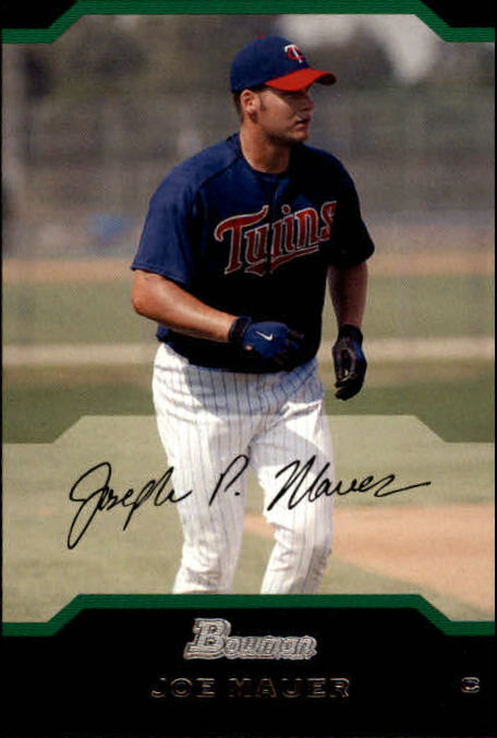 2004 Bowman #152 Joe Mauer
