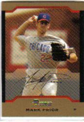 2004 Bowman Gold #34 Mark Prior