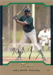 2004 Bowman Gold #145 Delmon Young