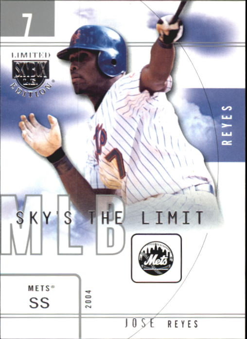 2004 SkyBox LE Sky's the Limit #13 Jose Reyes
