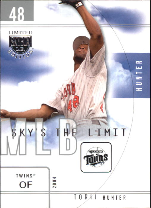 2004 SkyBox LE Sky's the Limit #14 Torii Hunter