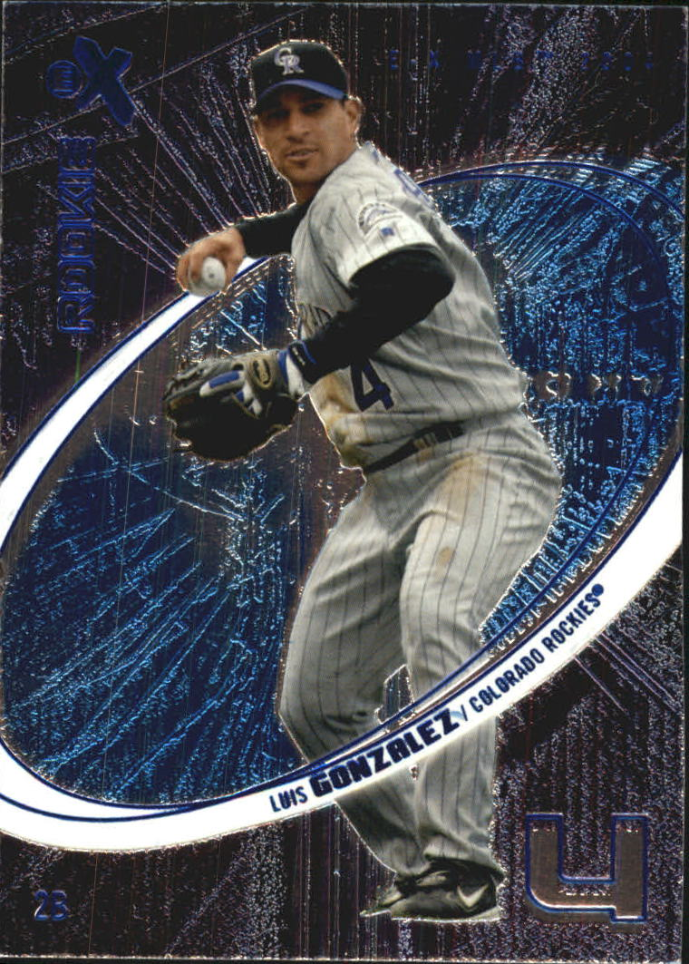 2004 E-X Essential Credentials Now #61 Luis Gonzalez ROO/61