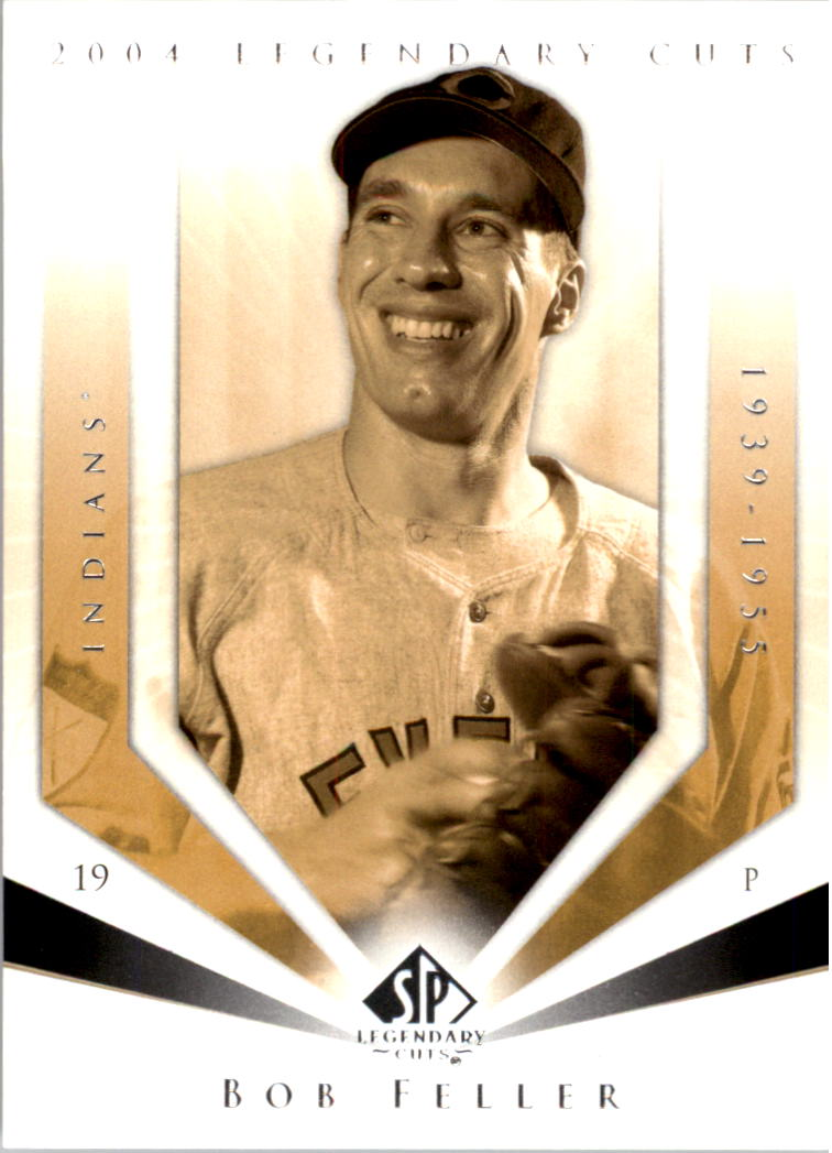 2004 SP Legendary Cuts #10 Bob Feller
